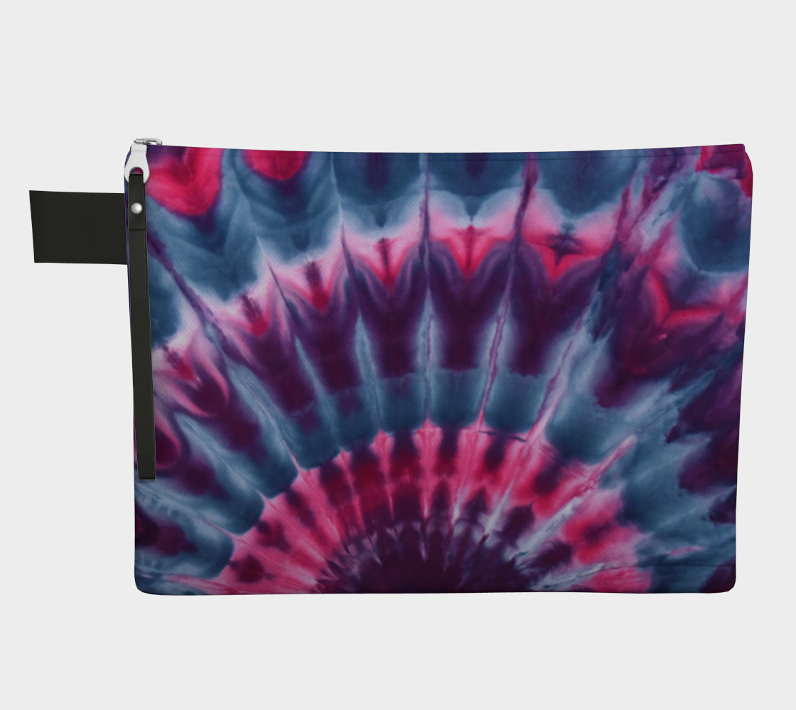 Pink Peacock Zipper Pouch preview