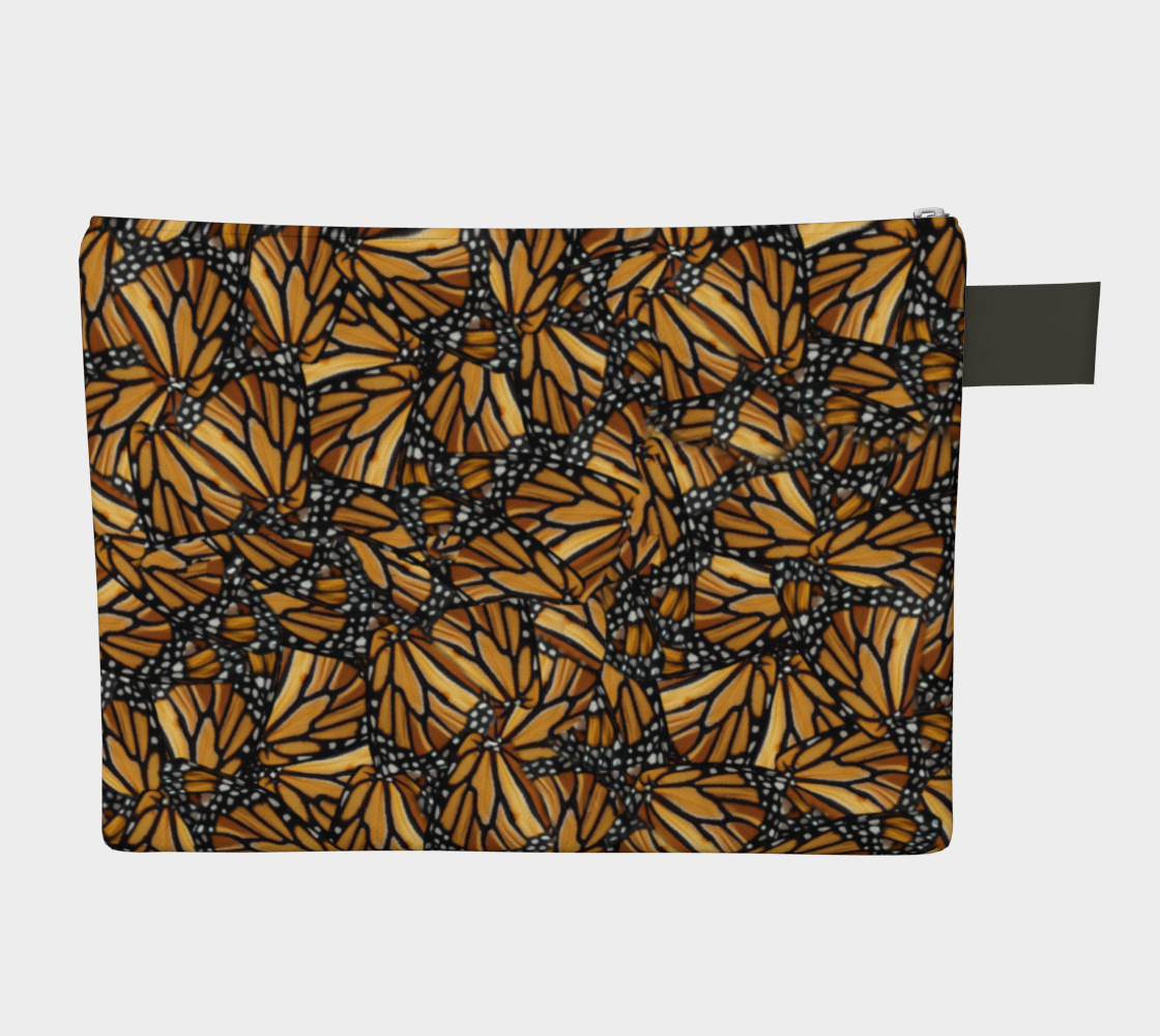 Monarch Butterfly Wing Mosaic Pattern preview #2