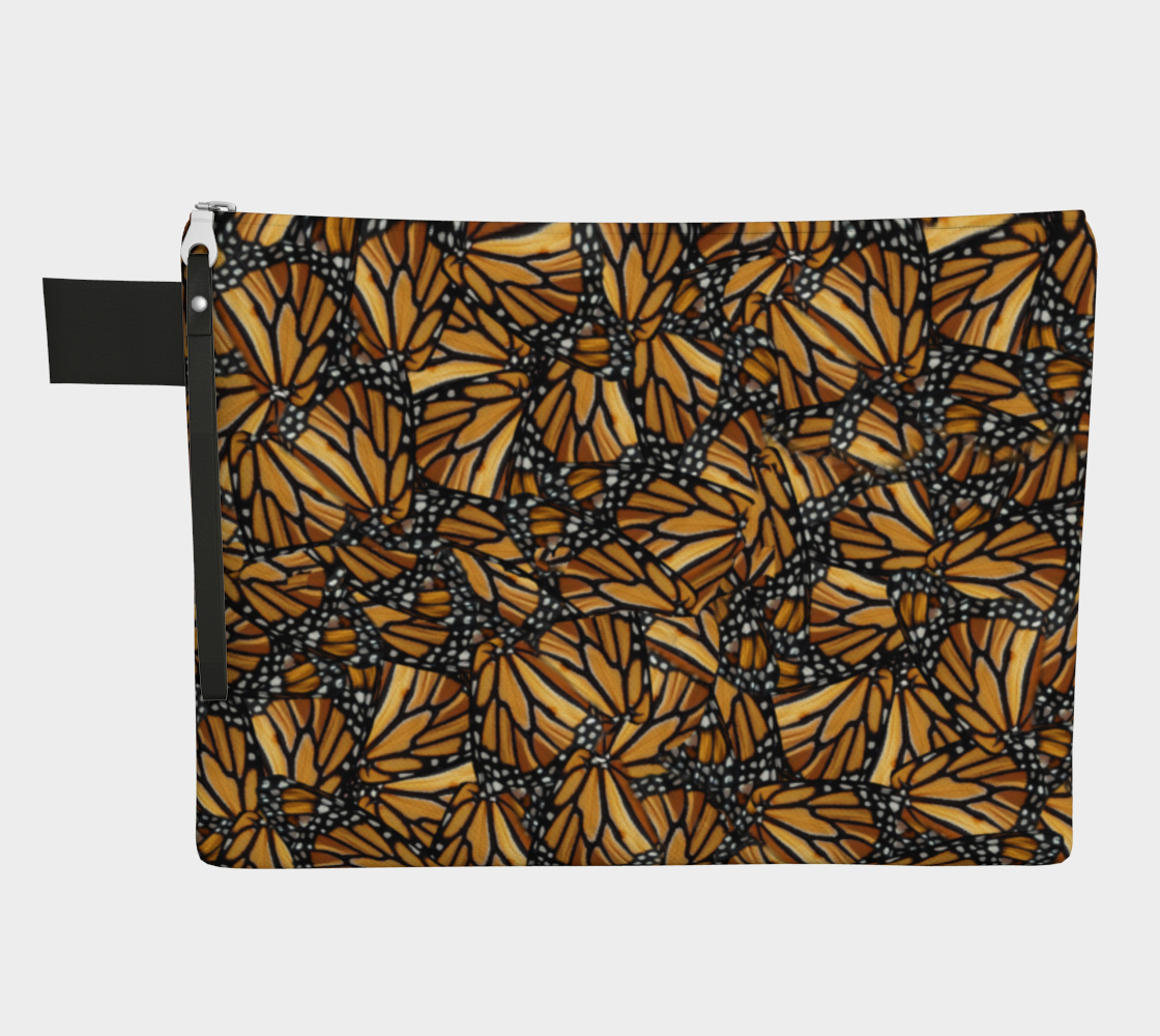 Monarch Butterfly Wing Mosaic Pattern preview
