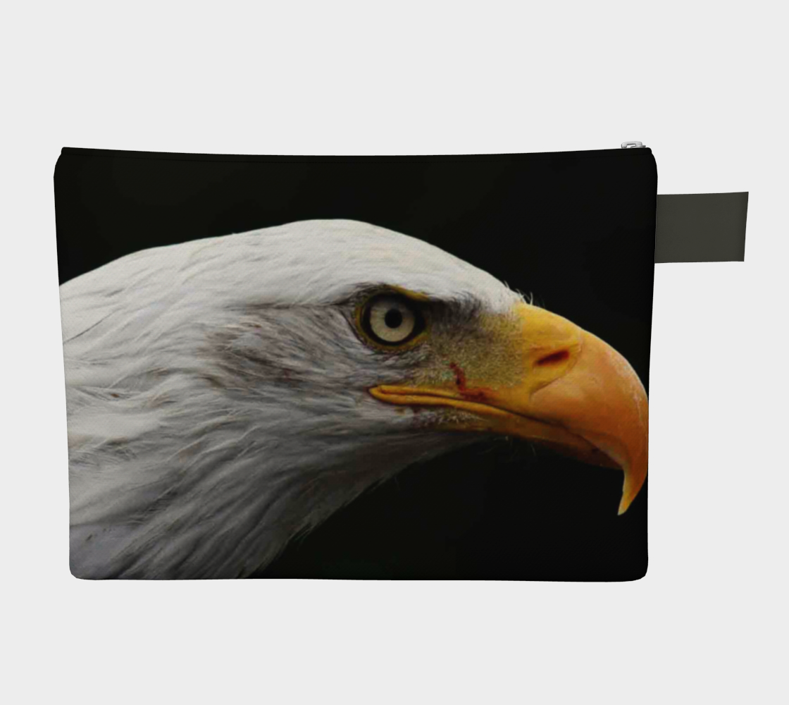 Bald Eagle Zipper Carry All thumbnail #3