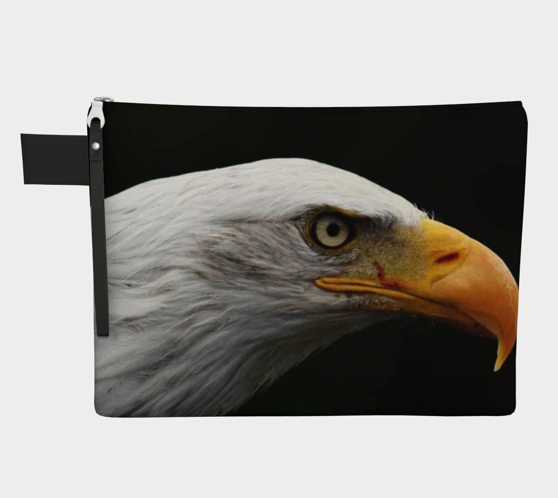 Bald Eagle Zipper Carry All 3D preview
