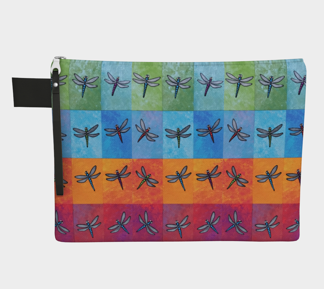 rainbow dragonflies preview