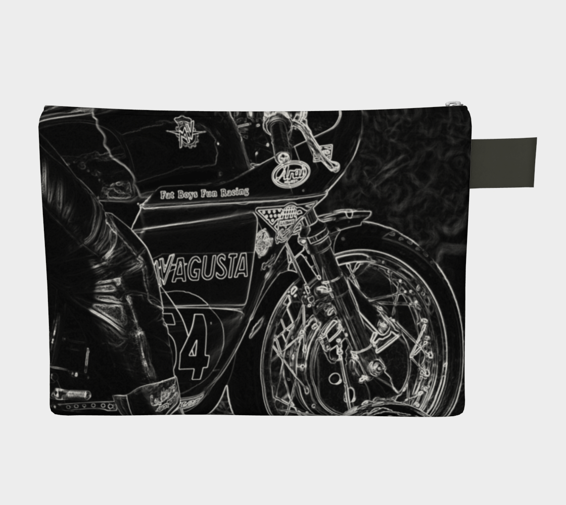 Motorcycle 1 Zipper Carry All preview #2