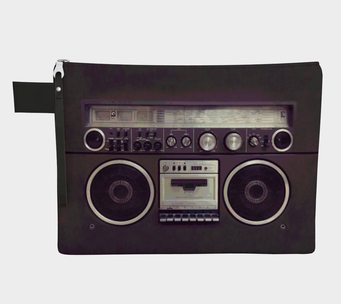 Aperçu de Retro Boombox Cassette Player