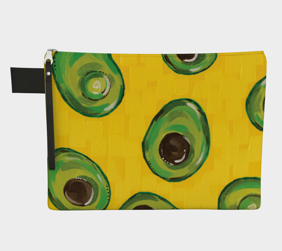 Avocado (Painting) Zipper Carry-All preview