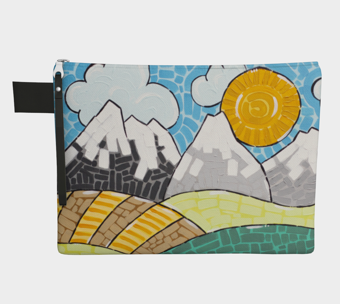 Alberta (Painting) Zipper Carry-All preview