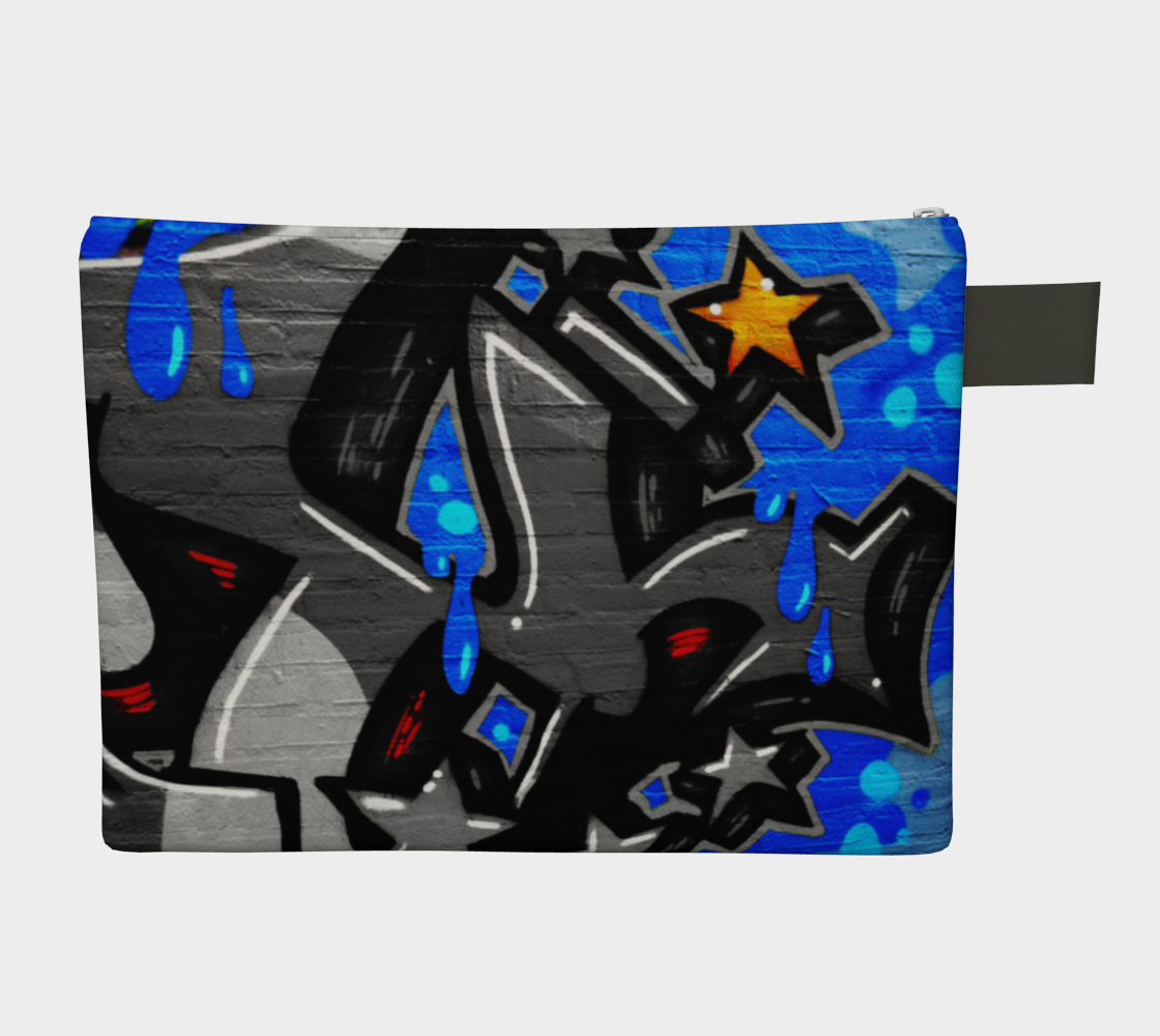 Graffiti 3 Zipper Carry All preview #2