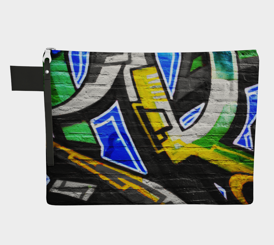 Graffiti 6 Zipper Carry All preview