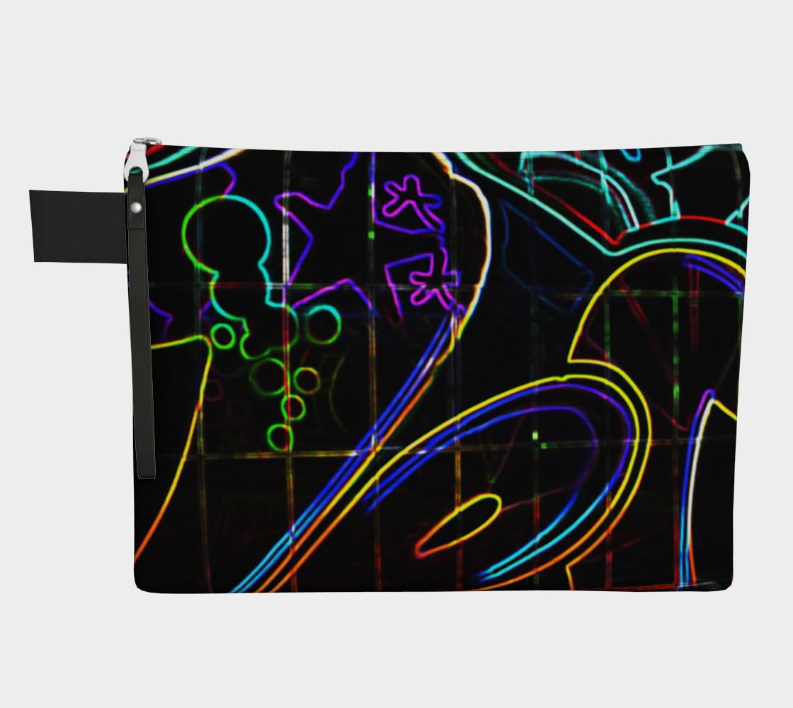 Graffiti 10 Zipper Carry All preview