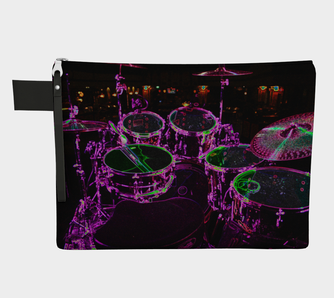 Drums Zipper Carry All preview