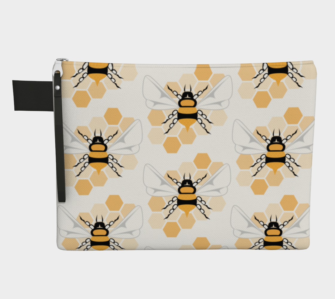 Bee Zipper Carry-All preview
