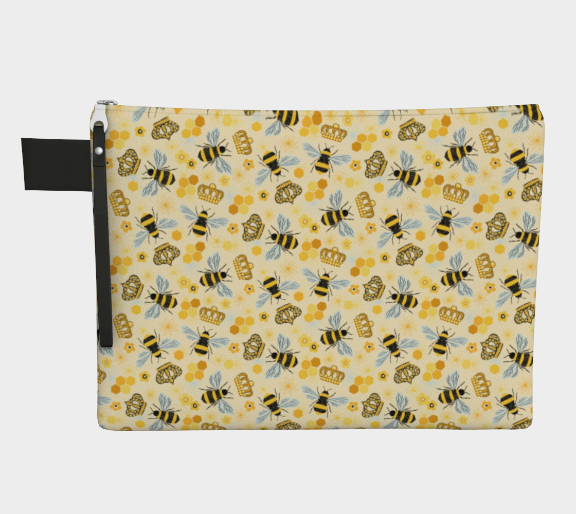 Queen Bee - Zip Pouch preview
