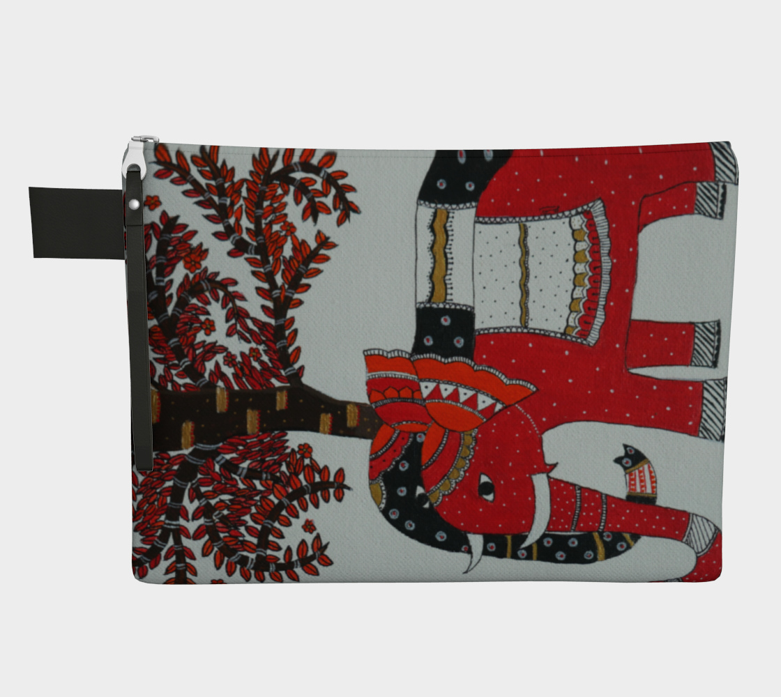 elephant family pouch preview