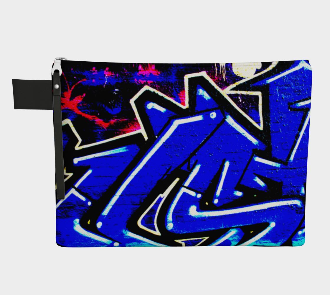Graffiti 13 Zipper Carry All preview
