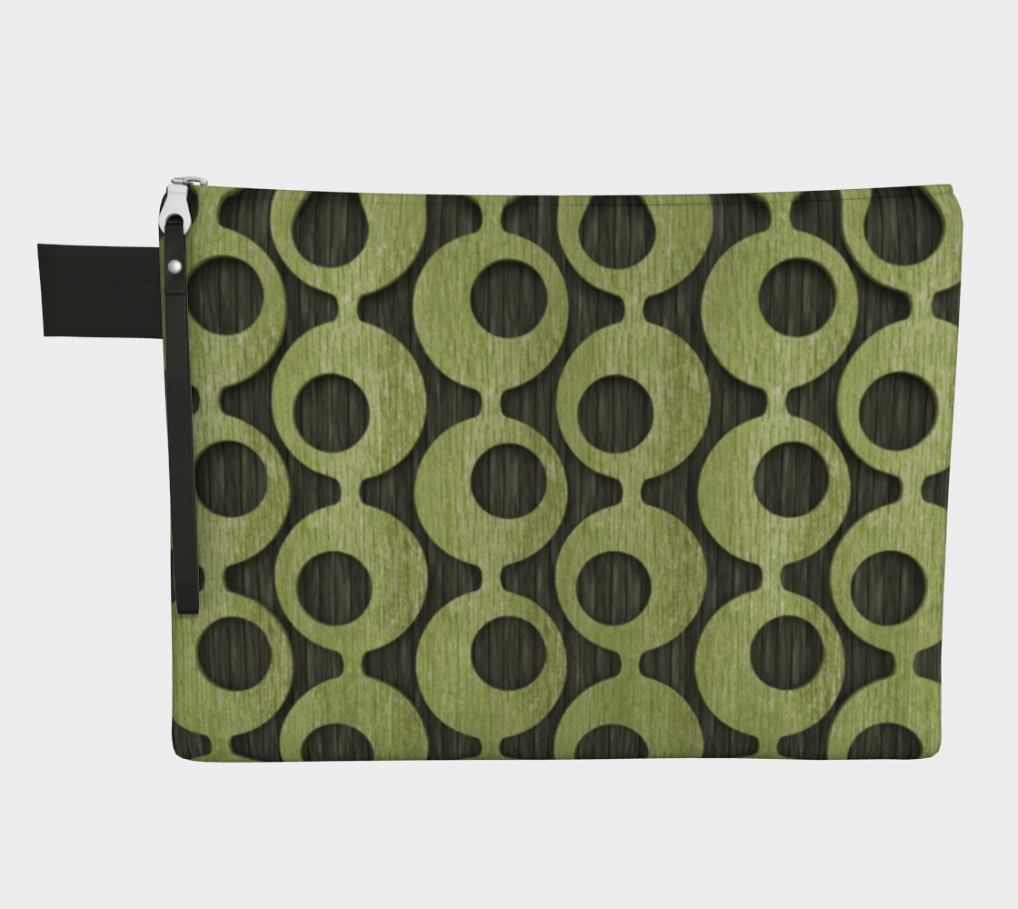 Mid Century Green Pattern preview