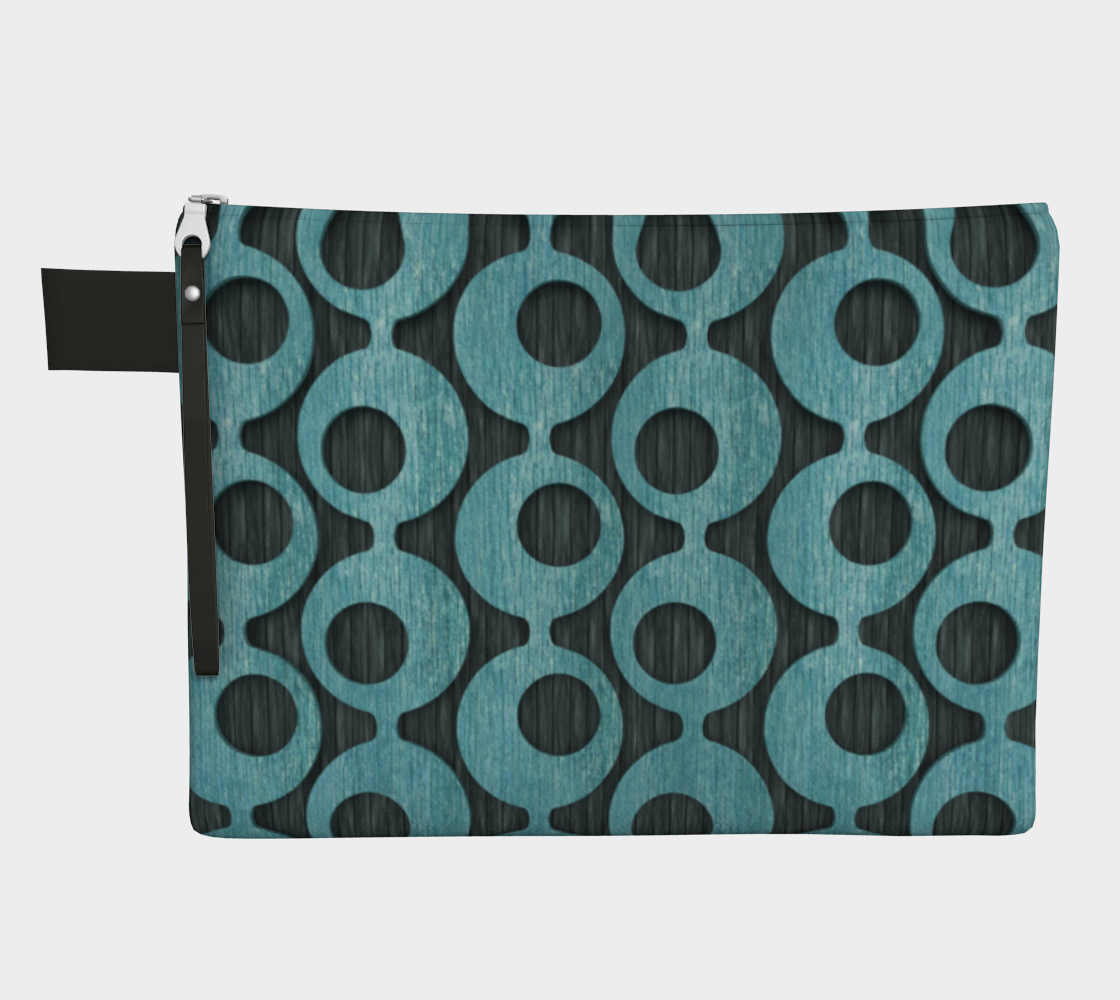 Mid Century Blue Pattern preview