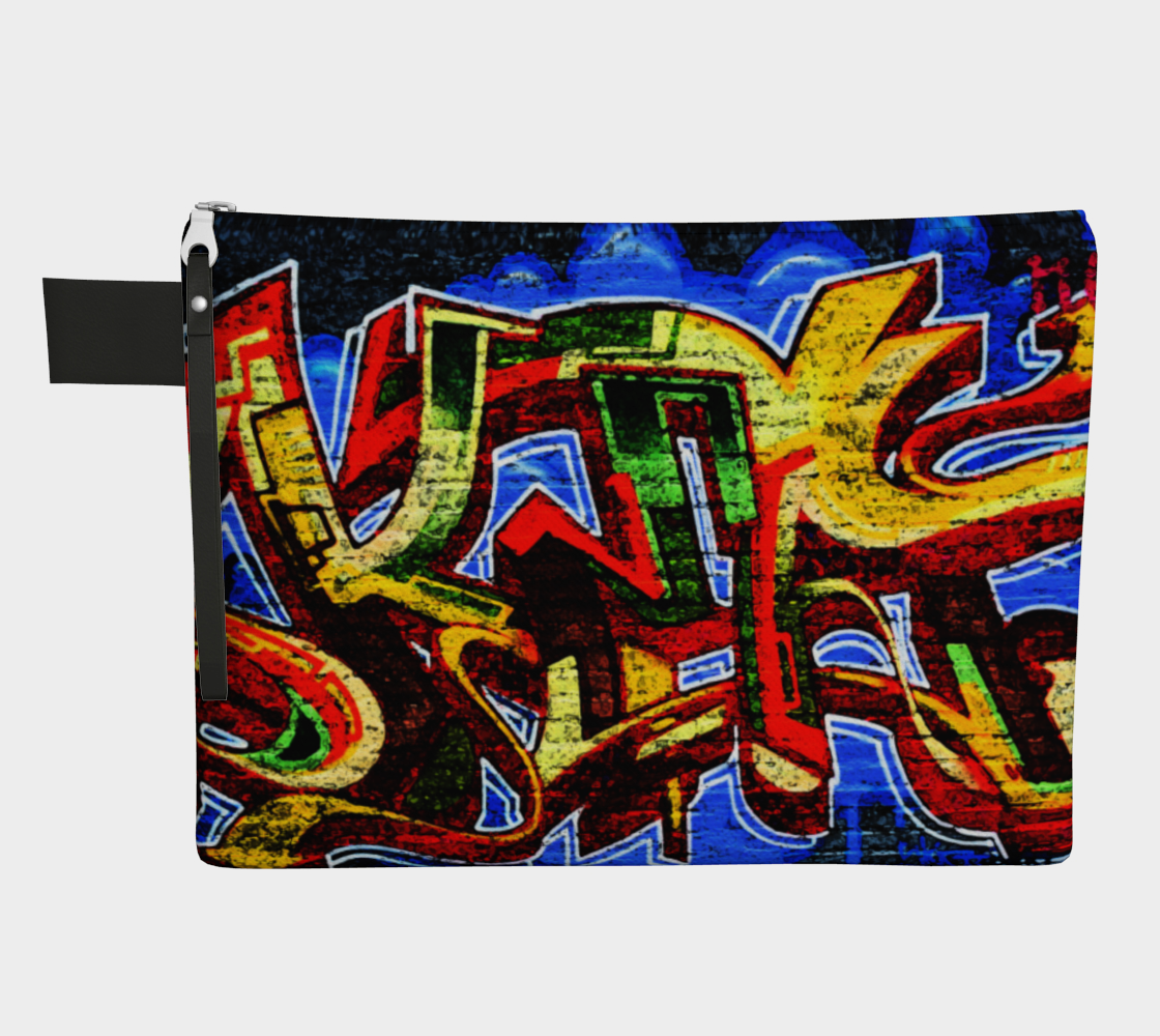 Graffiti 17 Zipper Carry All preview