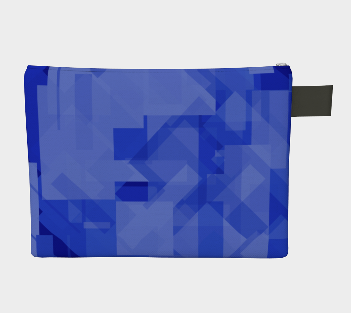 Blue is Better Zipper Carry-All preview #2