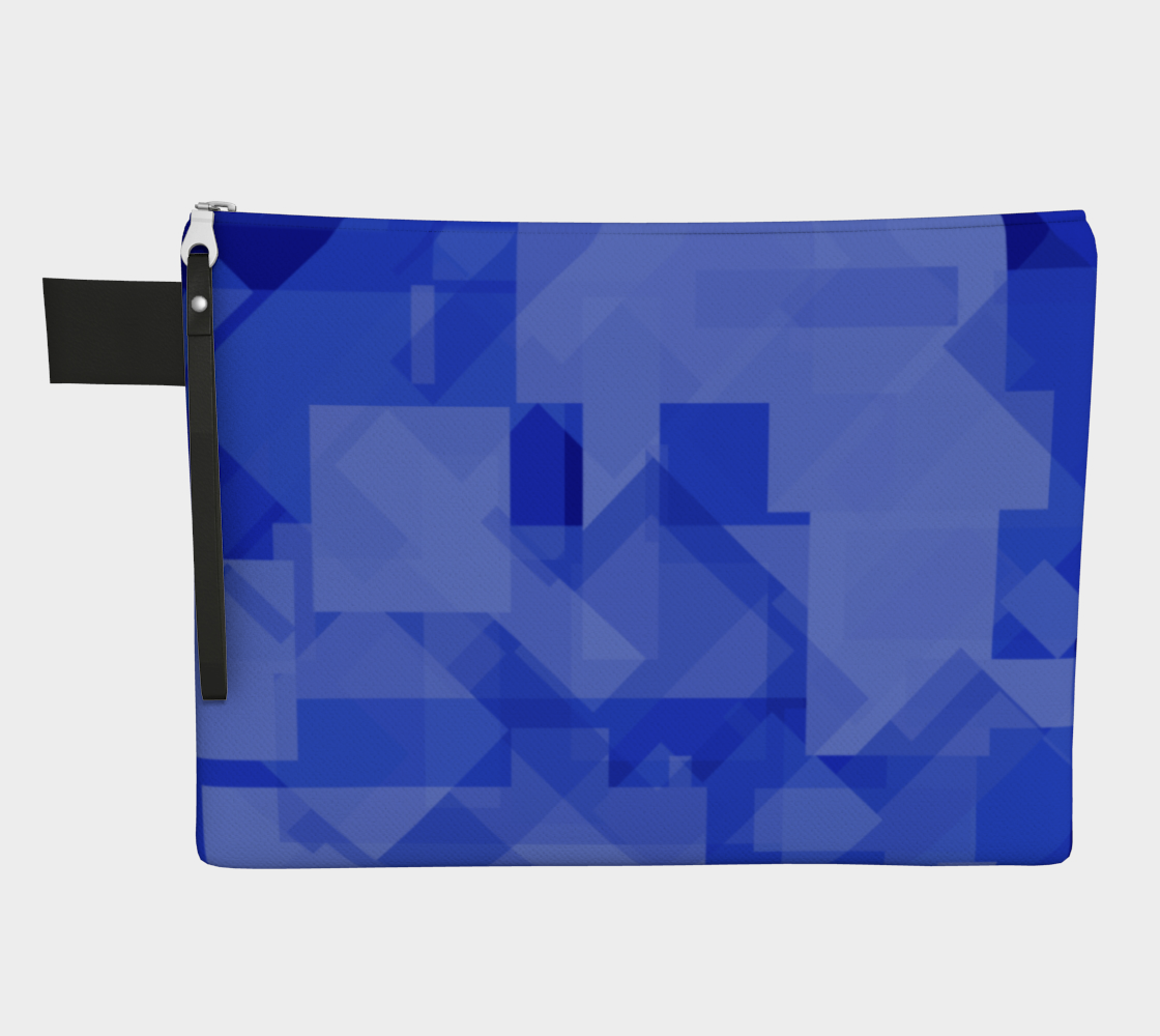 Blue is Better Zipper Carry-All preview