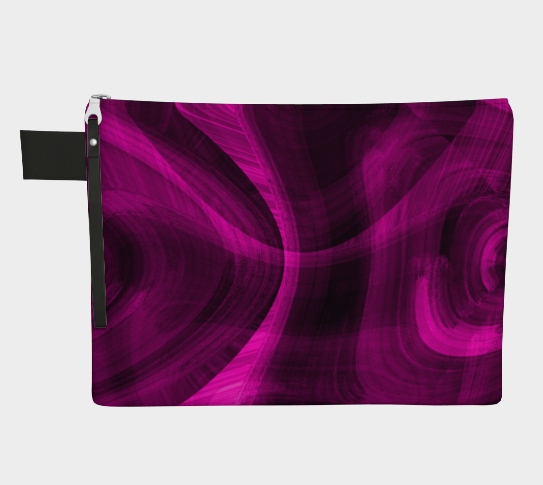 Pinkish Black Hole Zipper Carry-All preview
