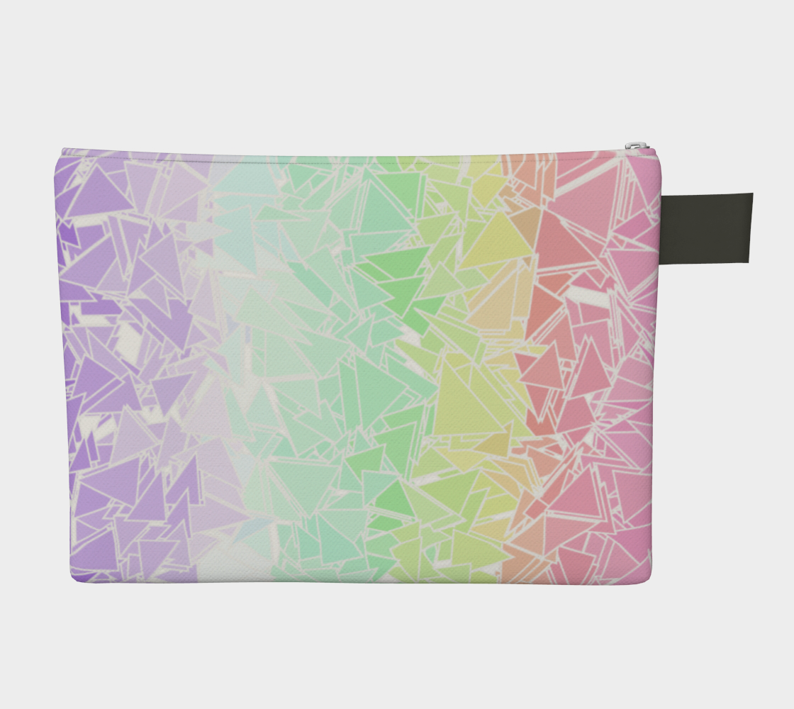 Groovy Boho Triangle Rainbow, 50% of profits donated to the Trevor Project! preview #2