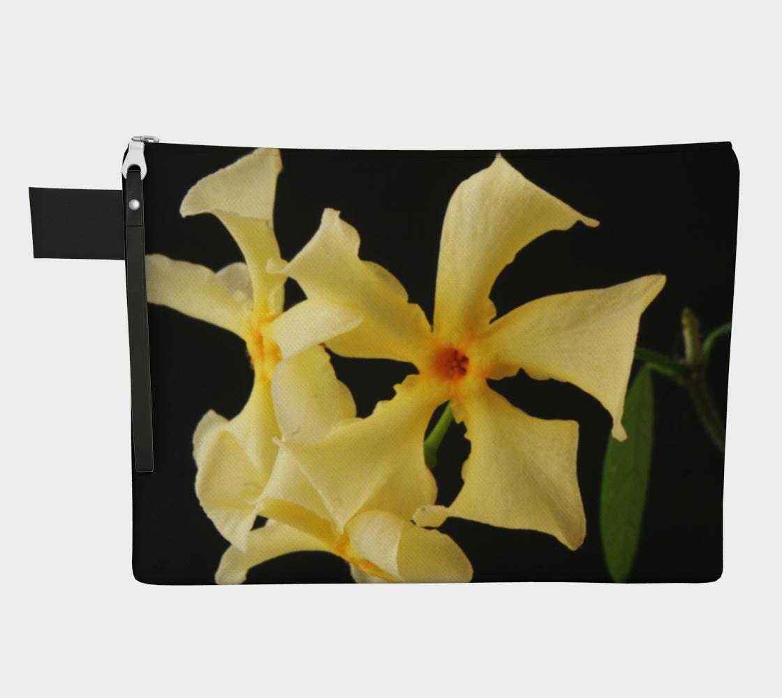 Star Jasmine Flower Zipper Carry All preview