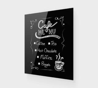 "Cafe Menu Canvas Print 20""x24"" preview"