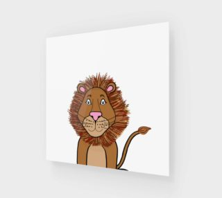 Leo the Lion Canvas Print preview