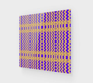 Bright Colorful Purple Yellow Wavy Lines preview