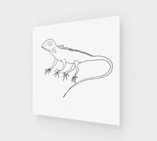 baby iguana preview