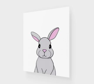 """Rosie the Rabbit Print - 16""""x20"""" preview"""