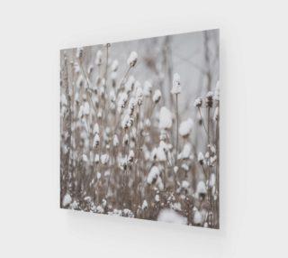 Aperçu de Winter Flowers Wall Art