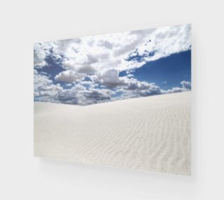 White Sands, Blue Skies - Acrylic 4:3 preview