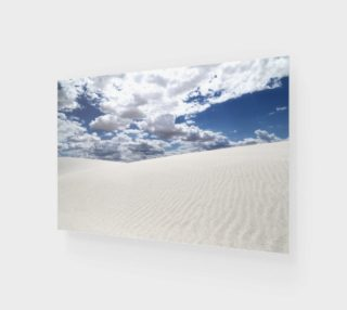 White Sands, Blue Skies - Acrylic 3:2 preview