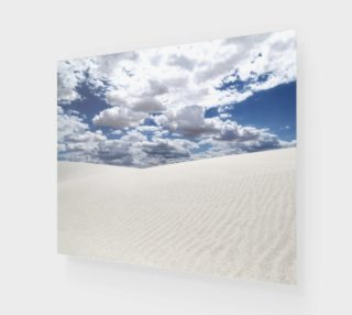 """White Sands, Blue Skies - Poster 24""""x20"""" preview"""