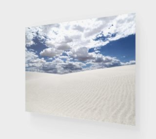 """White Sands, Blue Skies - Poster 20""""x16"""" preview"""