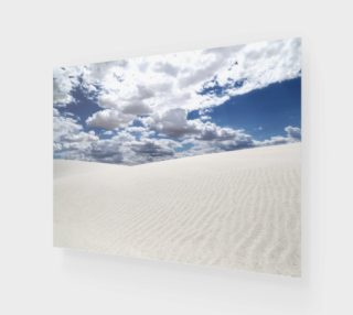 White Sands, Blue Skies - Poster 4:3 preview