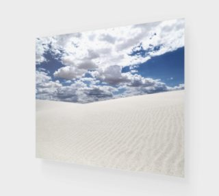 "White Sands, Blue Skies - Art Print - 24""x20"" preview"