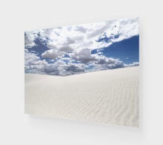 White Sands, Blue Skies - Art Print - 4:3 preview