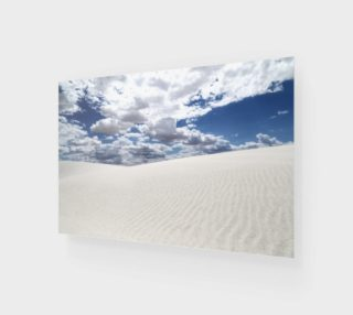 White Sands, Blue Skies - Art Print - 3:2 preview