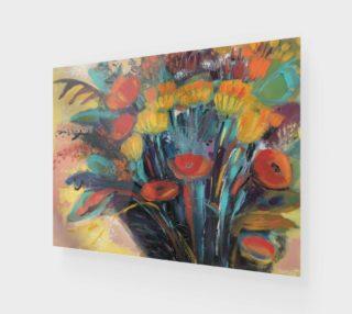 Aperçu de Toile Floral