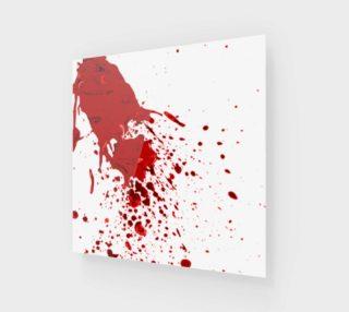 Aperçu de Blood Splatter 1 wall art