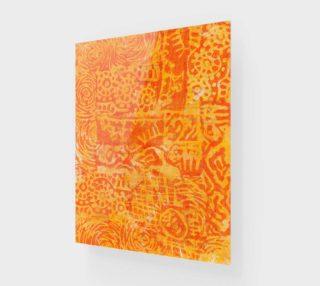 "Aperçu de Mayan Gold 11x14"""