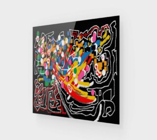 Abstract multicolor preview
