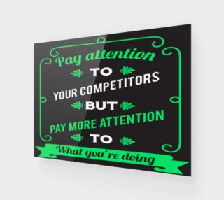 Aperçu de Pay attention to your competitors but pay more attention to what you're doing