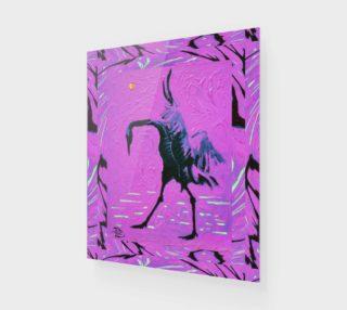 Crane of Paradise Fashion-Match Wall Art Print preview
