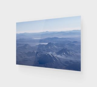 Aperçu de Window Plane View of Andes Mountains