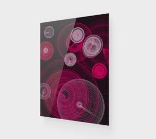 """Aperçu de Circles Wall Art 7.5"""" x 10"""""""