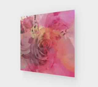 June Rose Wall Art preview