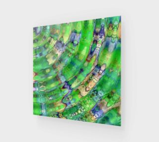 The Ripple Effect IX, Fresh Green - Wall Art preview